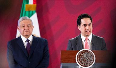 El Director General del Banco Nacional de Obras y Servicios Públicos (Banobras), Jorge Mendoza Sánchez, informó que en las próximas semanas se trabajará para saldar el contrato de arrendamiento financiero del avión presidencial.