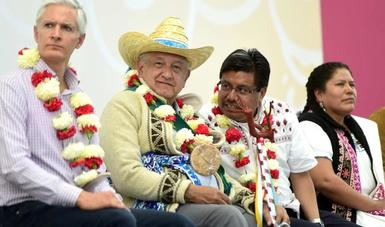 Habrá fertilizante gratuito para indígenas de la región de Atlacomulco, anuncia presidente López Obrador