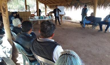 El curso de capacitación forma parte del Proyecto de Desarrollo Territorial