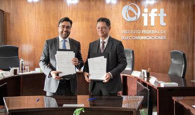 Firma de Convenio con el IFT