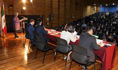 Palabras de la Secretaria de Economía, en presentación de resultados del Examen Inter-Pares de la OCDE
