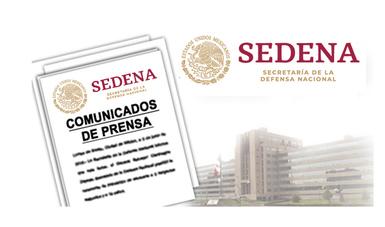 Comunicado SEDENA.