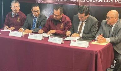 Firma de carta de intención para reducir y eliminar  bifenilos policlorados (BPC) de las corrientes de residuos electrónicos.