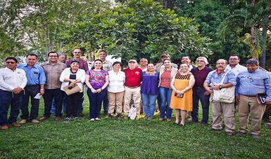 Escucharon a los pobladores las problemáticas que enfrentan algunas comunidades rurales que forman parte de las Reservas de la Biósfera La Encrucijada, El Triunfo y Tacaná.
