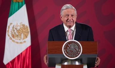 Hay confianza en México, afirma presidente al anunciar inversión de Microsoft por mil 100 mdd