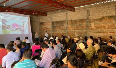 Realizó Semarnat segunda reunión pública de información sobre vía férrea en el Istmo de Tehuantepec