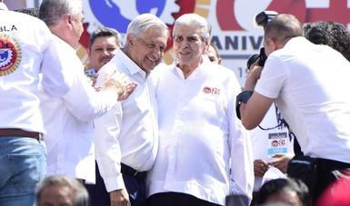 Democracia, pero también justicia social, afirma presidente al encabezar aniversario luctuoso de Madero y Pino Suárez