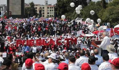 Se revisará legislación para garantizar pensión justa a trabajadores, informa presidente López Obrador