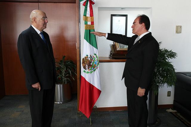 Nuevo Delegado de la Semarnat en Michoacán.