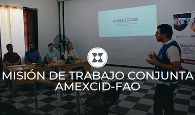 Del 19 al 21 de febrero, la Agencia Mexicana de Cooperación Internacional para el Desarrollo participó en la Misión de Trabajo conjunta AMEXCID-FAO al Departamento del Amazonas en Colombia.