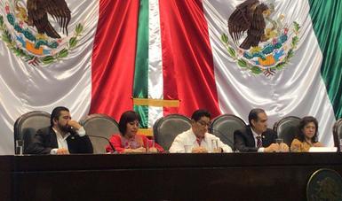 """Leticia Ánimas Vargas presenta """"Sistema de Becas educativas que garantice el derecho a la educación con equidad""""."""