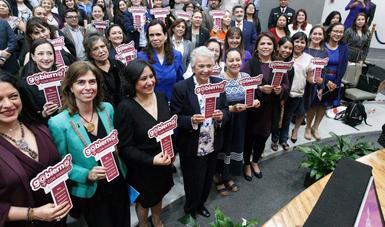 Las mujeres del gobierno paritario estamos comprometidas con el bienestar de México: María Luisa Albores
