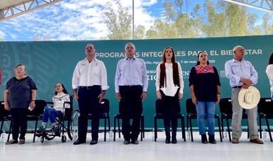 Presentan avances de Programas Integrales de Bienestar en Aguascalientes.