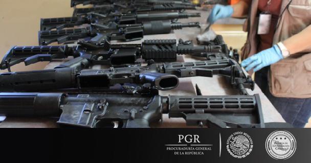 PGR asegura arsenal