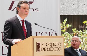 Discurso del secretario de Educación Pública, Aurelio Nuño Mayer
