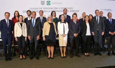 """Anuncian CDMX e iniciativa privada """"Compromiso para la Inversión y el Empleo"""""""