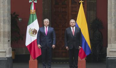 Colombian President Iván Duque Makes