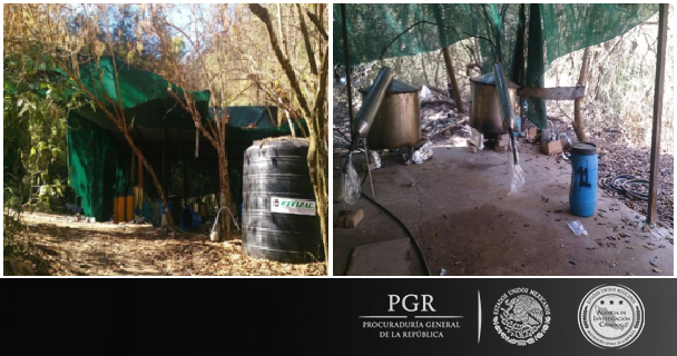 Desmantela PGR laboratorio