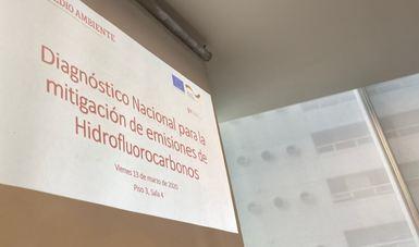 Presentan resultados del Diagnóstico Nacional para Mitigar Emisiones de HFC en México