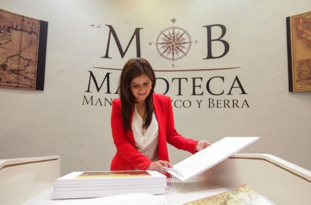 Parte de la colección de la Mapoteca Manuel Orozco y Berra puede ser consultada vía electrónica a través de la página: http://www.siap.gob.mx/mapotecasiap/ o se puede visitar la muestra permanente en las instalaciones del recinto.