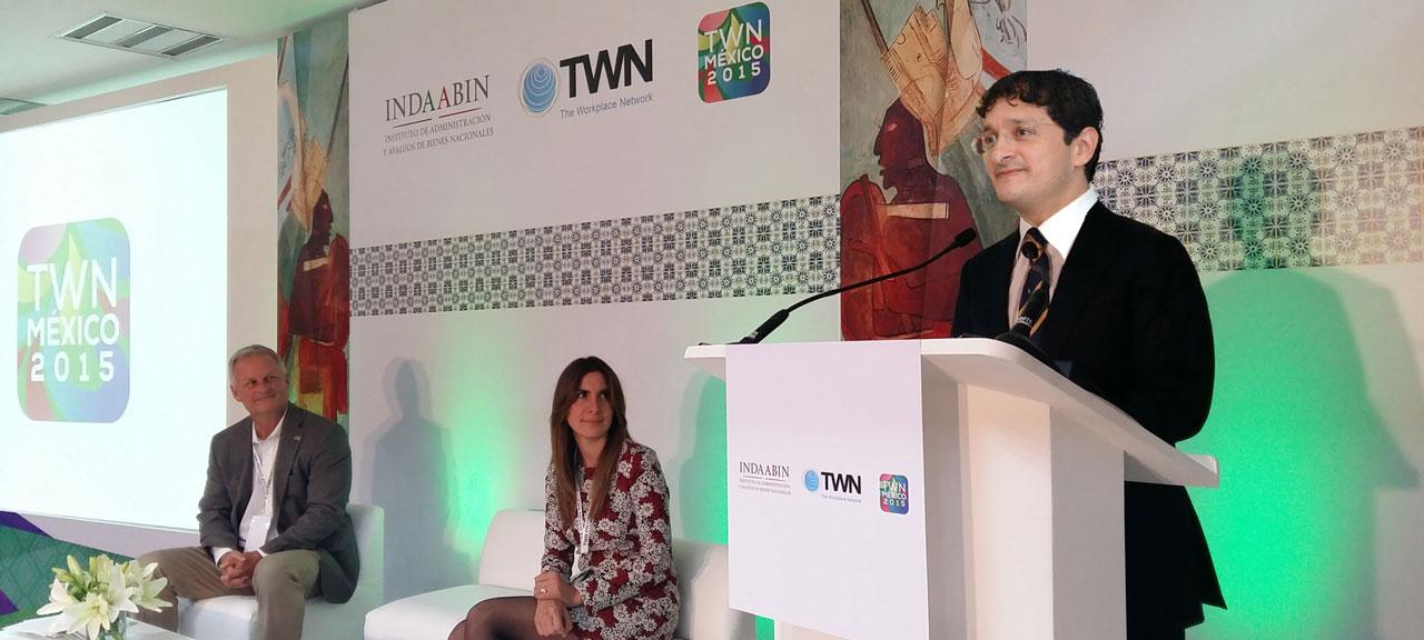 El Secretario de la Función Pública, Virgilio Andrade Martínez, inauguró la edición 2015 de The Workplace Network.