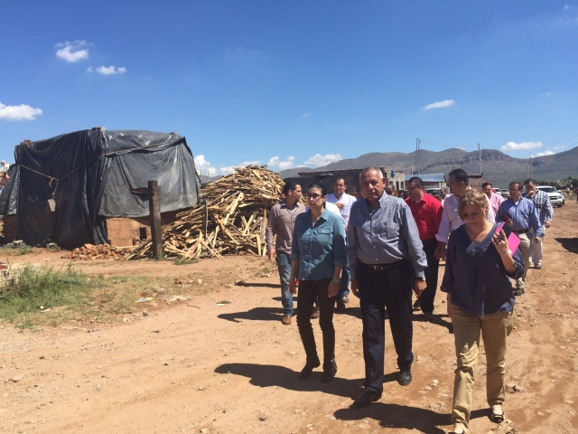 Apoya Sedesol a afectados por lluvias en Chihuahua
