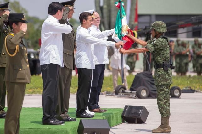 En el sur del Estado de Morelos, en el Municipio de Jojutla, se asienta el 108 Batallón de Infantería, que arriba para sumar esfuerzos por el bienestar, desarrollo y seguridad del área.