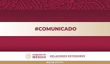 Lamenta Gobierno de México fallecimiento de connacional en Perú