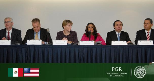 Seminario Bilateral de Heroína en el que participaron expertos de México y Estados Unidos.