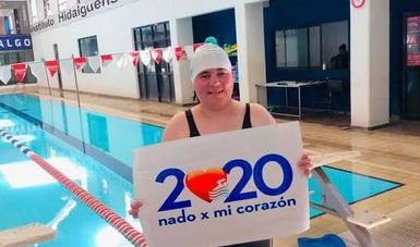 Se logró la participación de más de 52 mil nadadores en 19 estados.