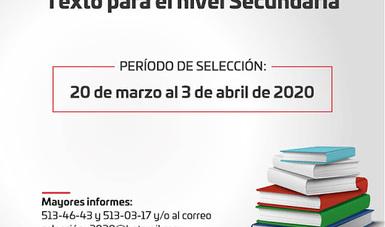 El Instituto Estatal de Educación Pública de Oaxaca (IEEPO) invita a los directores de secundaria a seleccionar libros de texto