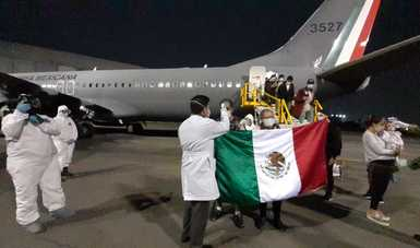 Retornan desde Argentina personas mexicanas afectadas por contingencia del COVID-19
