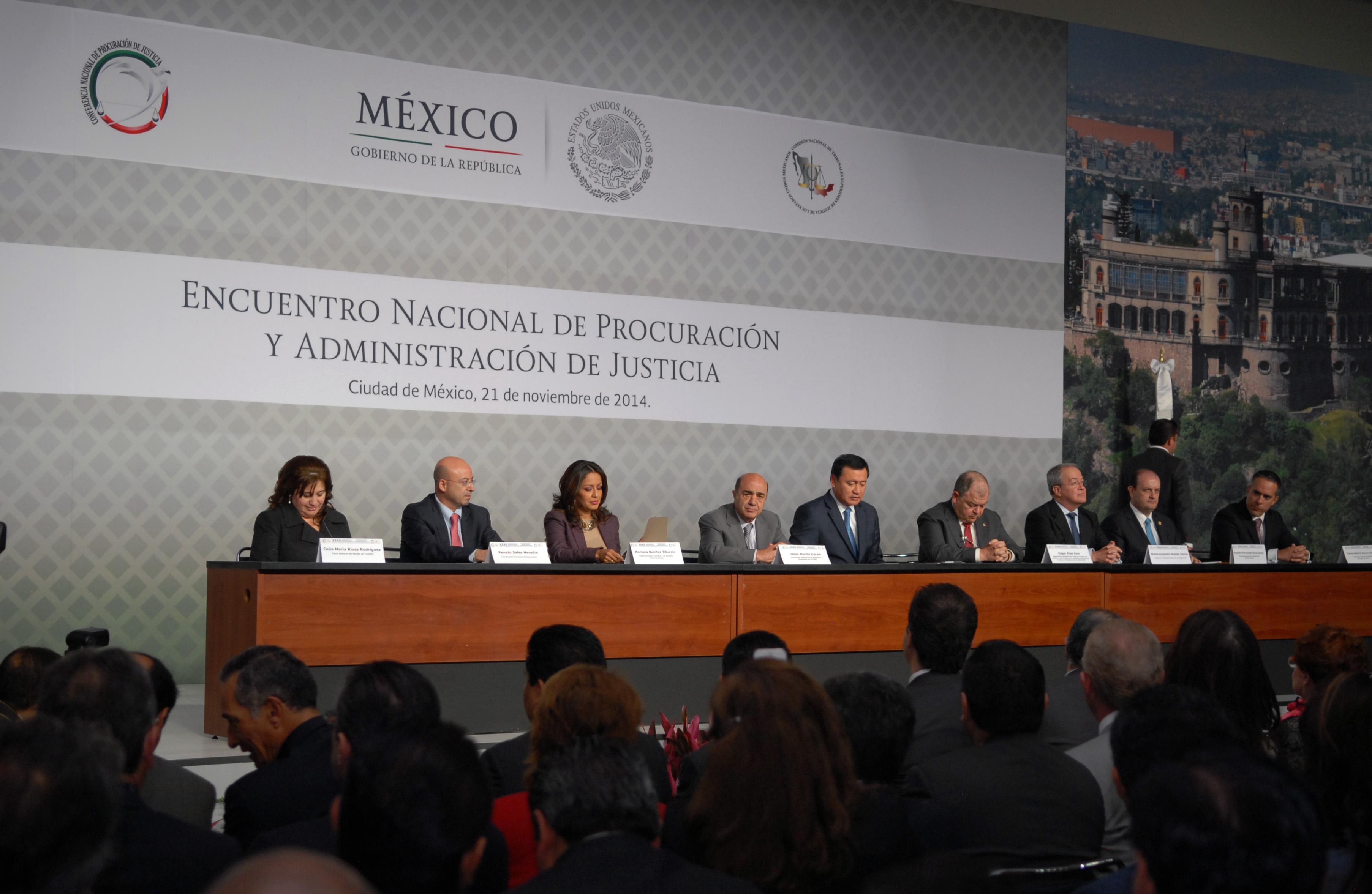 XXXII Asamblea Plenaria de la Conferencia Nacional de Procuración de Justicia