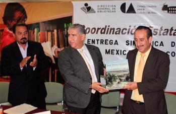 Recibe Zacatecas acervo de la Biblioteca Mexicana del Conocimiento