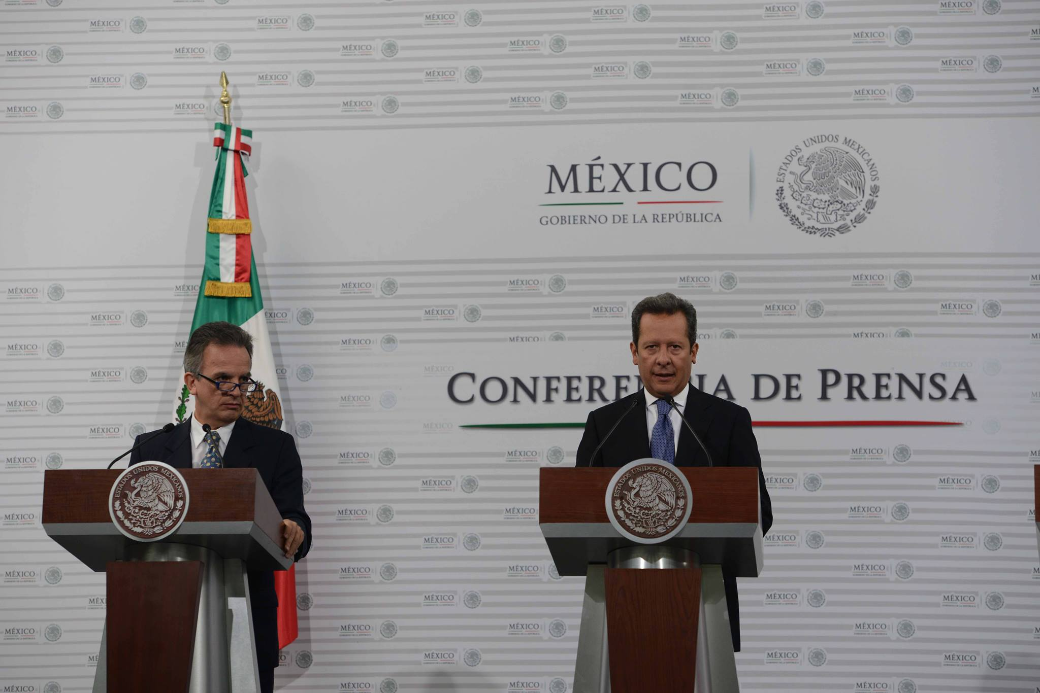 """México, destacó Eduardo Sánchez, forma parte de las soluciones globales. """"Está comprometido con resolver el presente, y está sembrando prosperidad para el futuro""""."""