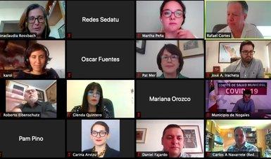 Funcionarios de la Secretaría de Desarrollo Agrario, Territorial y Urbano participaron en un conversatorio virtual.