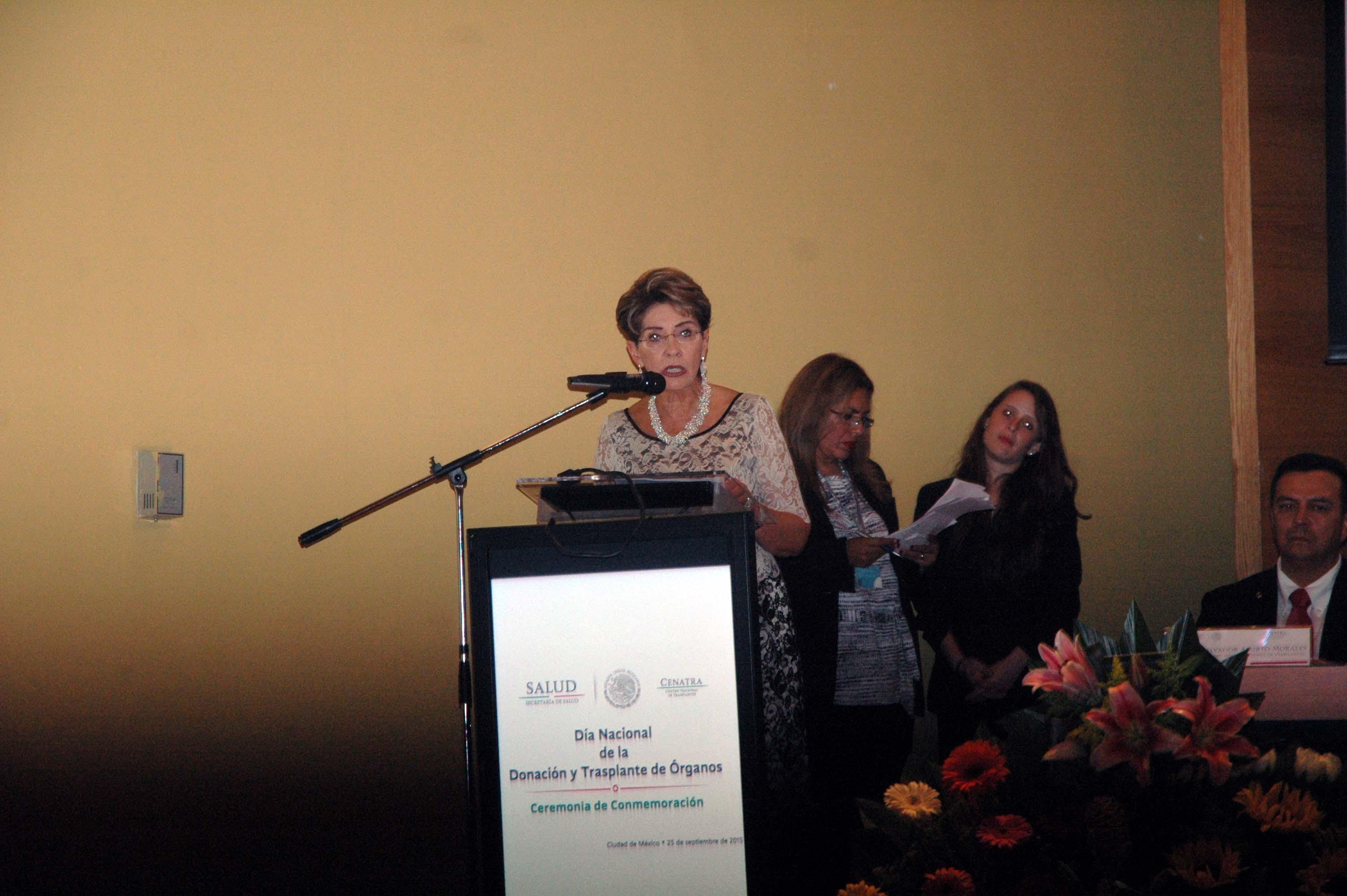 La Secretaria de Salud, Mercedes Juan encabezó la conmemoración del Día Nacional de la Donación de Órganos  y Tejidos.