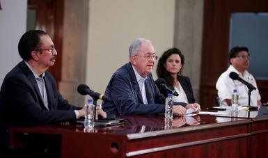 Conferencia de prensa en Palacio Nacional para informar sobre los avances de los Programas de Bienestar en el contexto de la pandemia COVID-19 y la reactivación económica