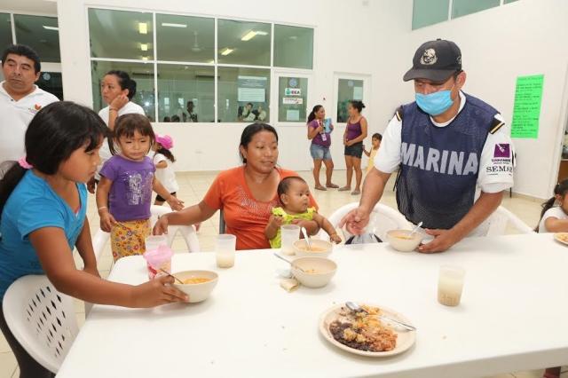 Comedores comunitarios en Quintana Roo