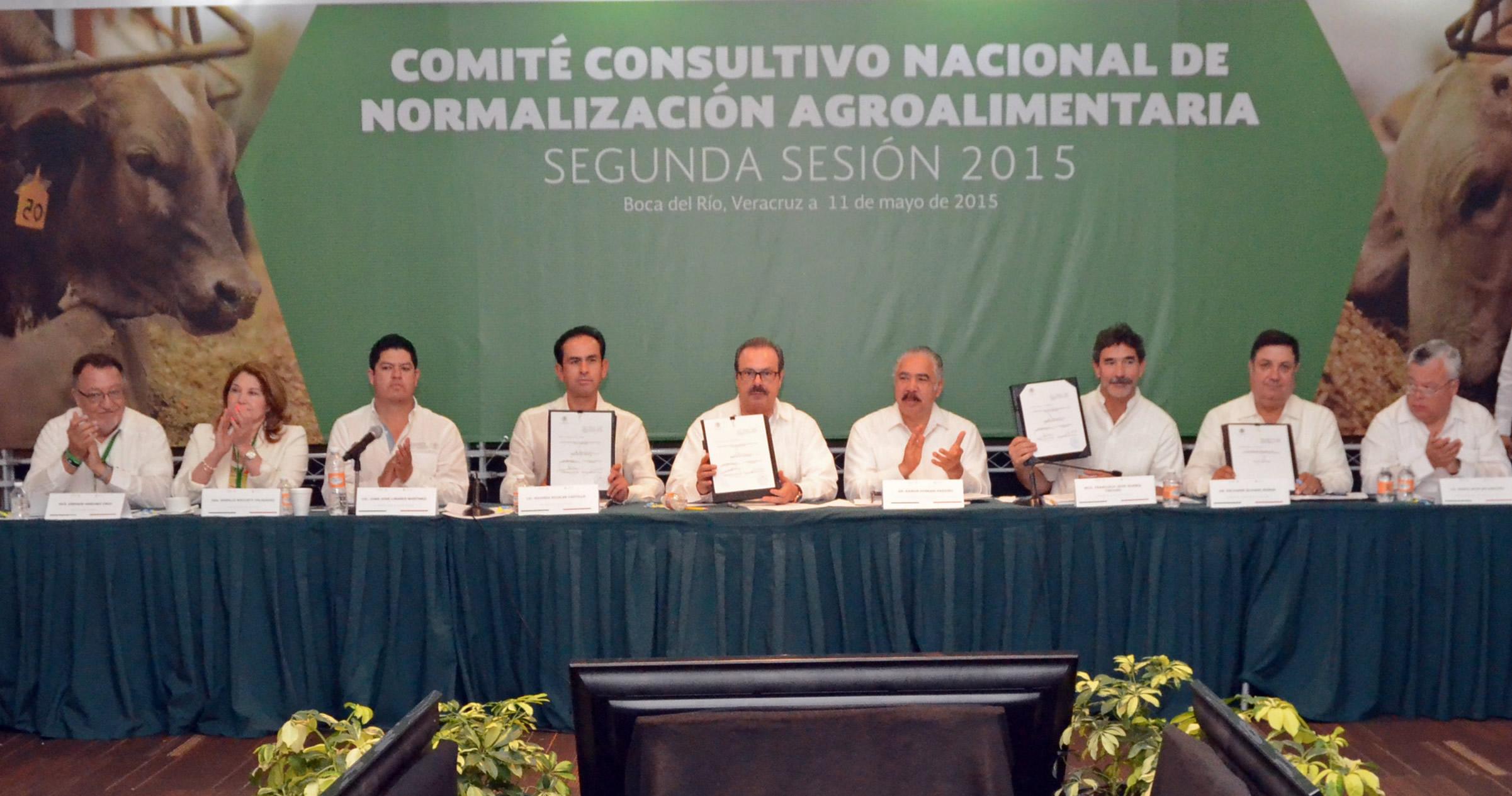 Participa titular de la SAGARPA, Enrique Martínez y Martínez, en la segunda sesión ordinaria del Comité Consultivo Nacional de Normalización Agroalimentaria.