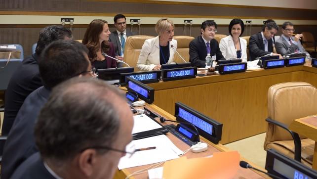 En octubre próximo, México será sede de la Cumbre Global de la Alianza para el Gobierno Abierto, informó Alejandra Lagunes.