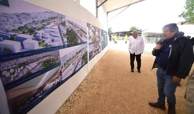 Campeche será pieza clave de la conectividad peninsular: Rogelio Jiménez Pons