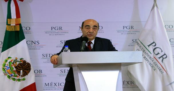 Jesús Murillo Karam, Procurador General de la República