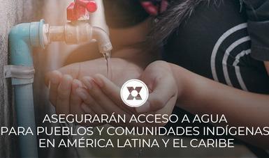 Como parte del fomento del diálogo político del Programa Mesoamérica sin Hambre AMEXCID-FAO, este miércoles autoridades mexicanas presentarán un proyecto de ley que busca fortalecer los derechos humanos al agua y saneamiento ante el PARLATINO.