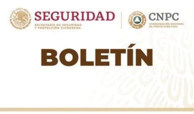 La Coordinación Nacional de Protección Civil emitió hoy una Declaratoria de Emergencia por lluvias severas e inundación fluvial o pluvial.