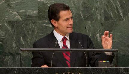 México es una Nación plenamente comprometida con la ley, los derechos humanos y la paz.