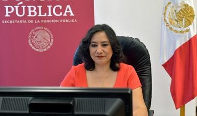 Ante la violencia de género, fuerza transformadora, democrática y feminista: secretaria Irma Eréndira Sandoval