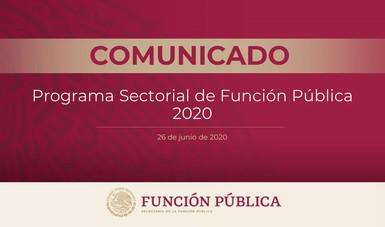 Programa Sectorial de Función Pública 2020-2024 incorpora ejes propuestos por la secretaria Sandoval Ballesteros
