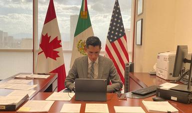 La Secretaría de Relaciones Exteriores sostiene reunión de trabajo con la Cámara de Comercio de Estados Unidos