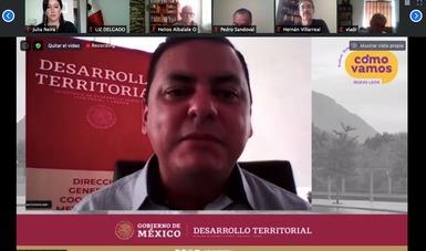 Daniel Fajardo Ortiz, coordinador general de Desarrollo Metropolitano y Movilidad de la Secretaría de Desarrollo Agrario, Territorial y Urbano.